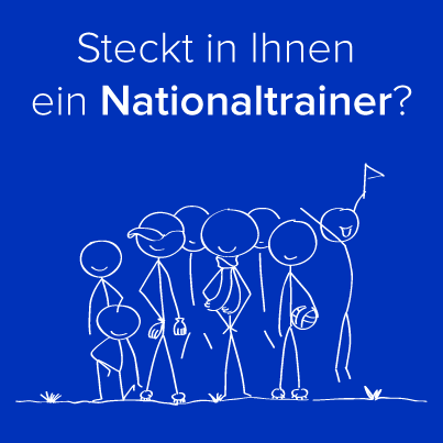 Mitarbeitertypen-Nationaltrainer